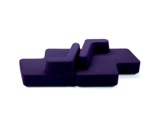 Puzzle Contract by Via Della Spiga | Seating islands