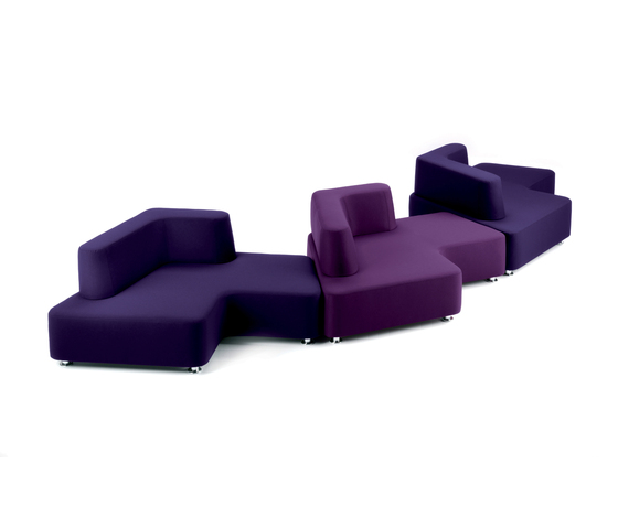 Puzzle Contract by Via Della Spiga | Lounge sofas