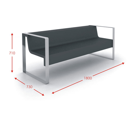 Meeting Point by Cabanes | Waiting area benches
