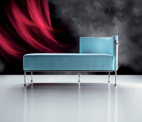 Sweet Chaise Longue by Via Della Spiga | Chaise longues