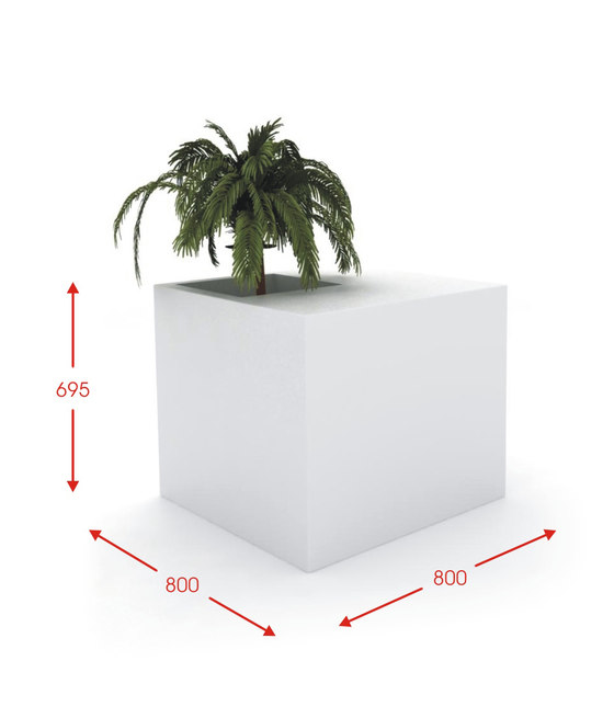 Meeting Point by Cabanes | Flowerpots / Planters