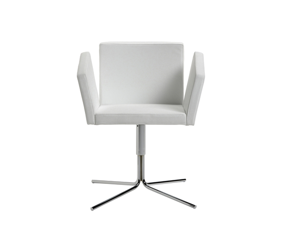 Vega Chair by Via Della Spiga | Visitors chairs / Side chairs