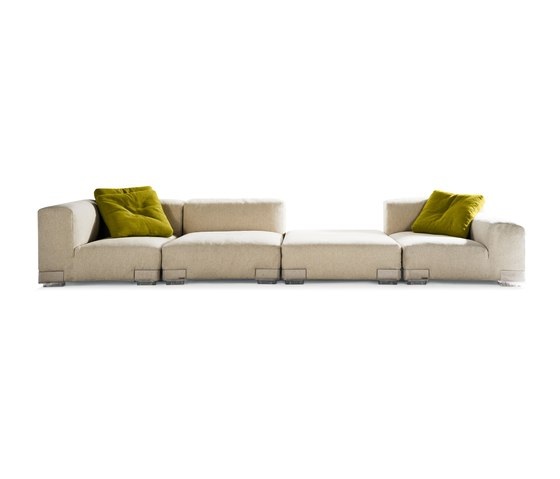 Plastics Duo by Kartell | Lounge sofas