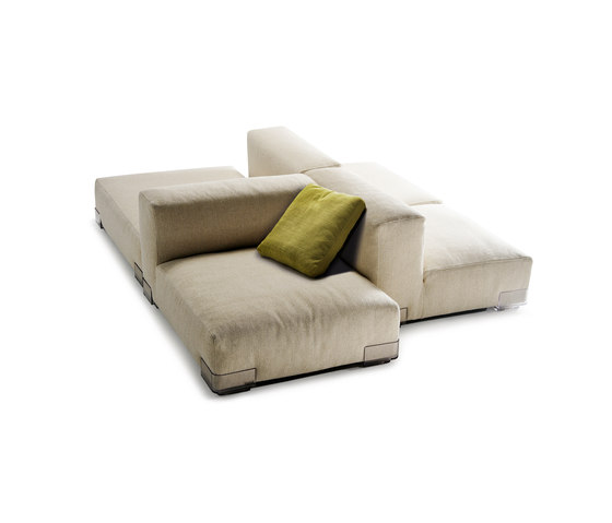 Plastics Duo di Kartell | Sistemi di sedute componibili