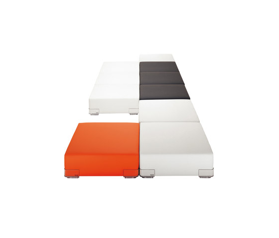 Plastics by Kartell | Seating islands