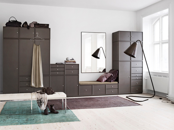 Montana Wardrobe | application example by Montana Møbler | Cabinets