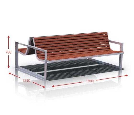 Rio by Cabanes | Exterior benches