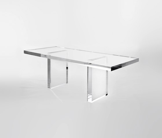Forum tavolo zona giorno con sedie e panca - Tavolo policarbonato ...