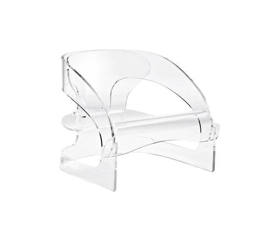 Armchair 4801 by Kartell | Garden armchairs