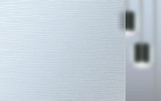 Madras® Texturen | Stream von Vitrealspecchi | Dekoratives Glas