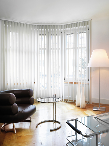 Vertical Blind System Silent Gliss 2810 by Silent Gliss | Vertical blinds