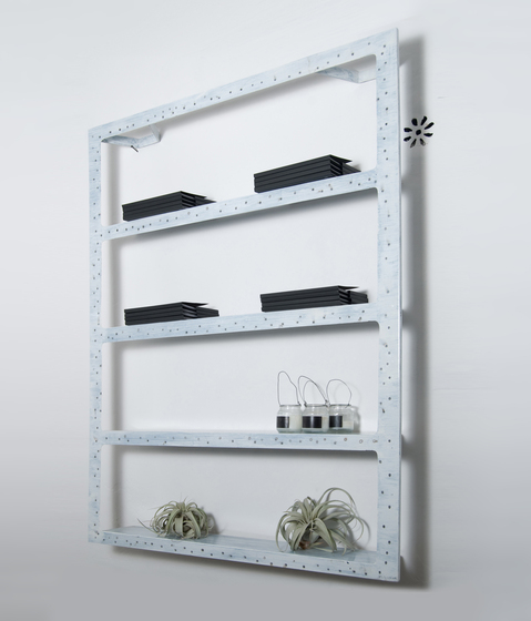 Ergo Sum Bookcase wall system von IN-ES.ARTDESIGN | Regalsysteme