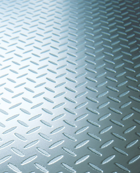 Madras® Diamond Plate Flooring by Vitrealspecchi | Decorative glass