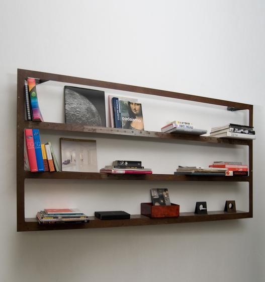 Ergo Sum Bookcase wall system by IN-ES.ARTDESIGN | Shelving