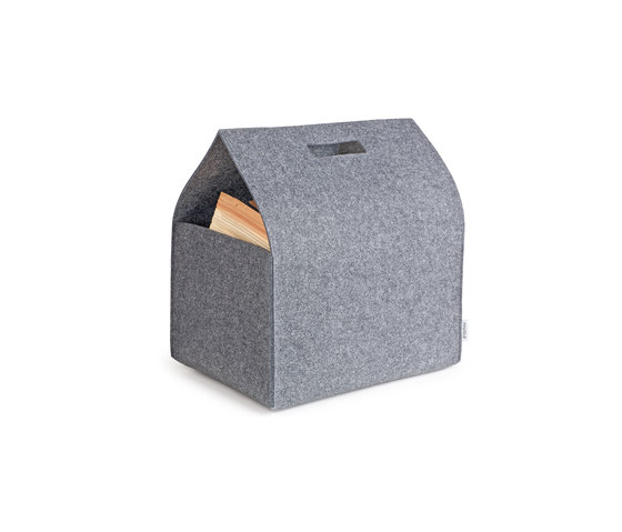 Porter Felt Carry Box by greybax | Storage boxes
