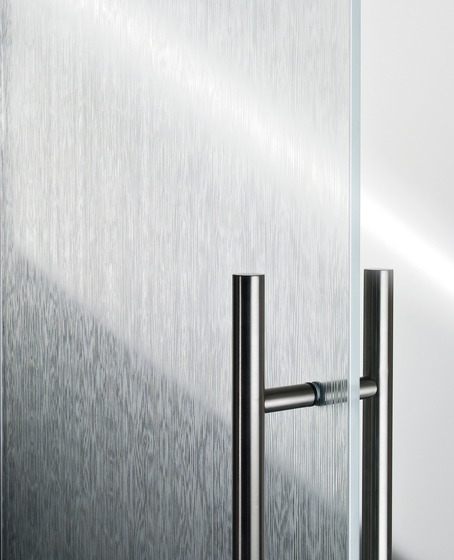Madras® Wengé Maté double face by Vitrealspecchi | Decorative glass
