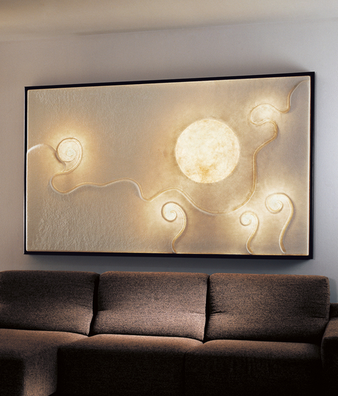 Lunar Dance wall lamp di IN-ES.ARTDESIGN | Illuminazione generale
