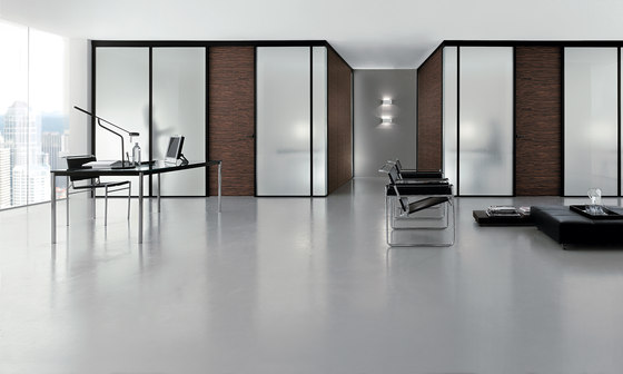 Madras® Lino clear von Vitrealspecchi | Dekoratives Glas