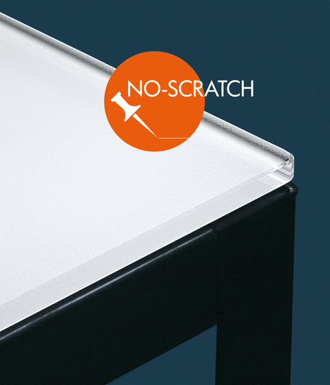 Ecosat No-Scratch white painted by Vitrealspecchi | Glass countertops