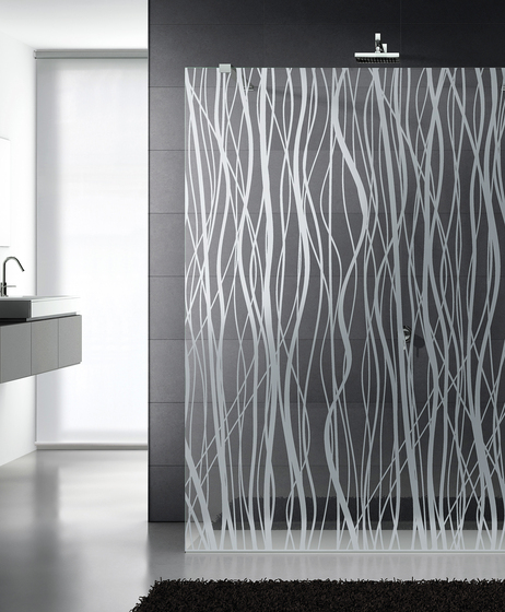 Madras® Fili Maté clear by Vitrealspecchi | Shower screens