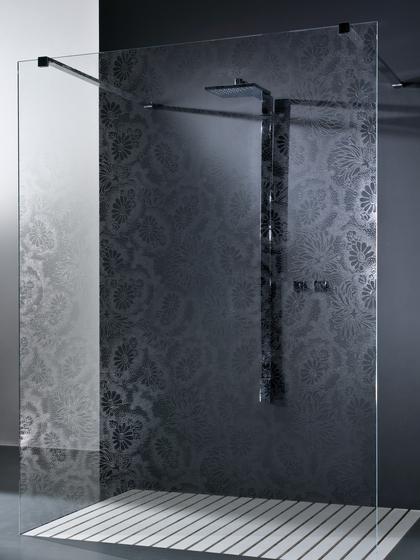 Madras® Kimono Cristalli clear by Vitrealspecchi | Shower screens