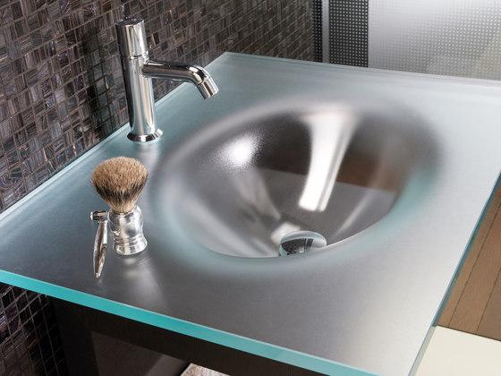 Vetro madras per arredobagno di vitrealspecchi ecosat - Lavandini in vetro per bagno ...
