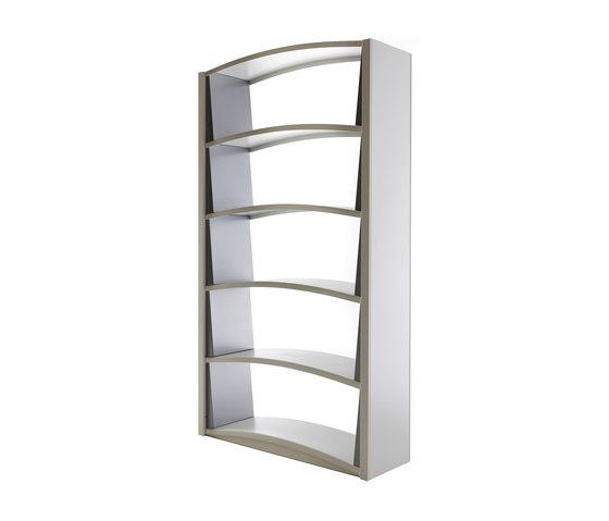 Chiave di Volta | Bookcases 5 shelves di Dieffebi | Sistemi scaffale ufficio