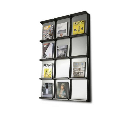 Chiave di Volta by Dieffebi | Magazine shelves