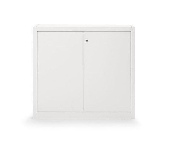 Hinged door cabinet | W 1000 H 880 mm by Dieffebi | Cabinets