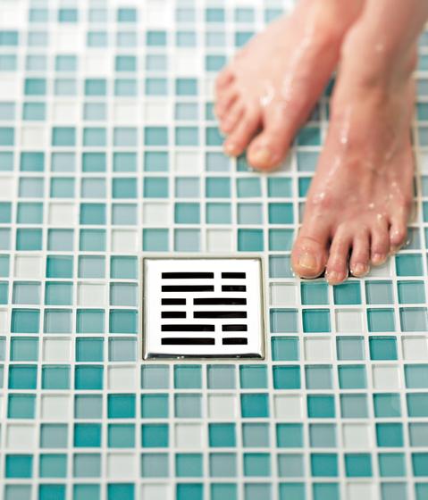 TECEdrainboard Entwässerungssystem von TECE | Punktabläufe / Badabläufe