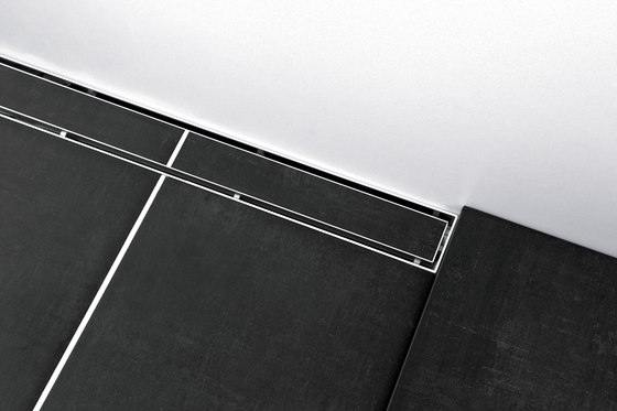 TECEdrainline shower channels plate by TECE | Linear drains