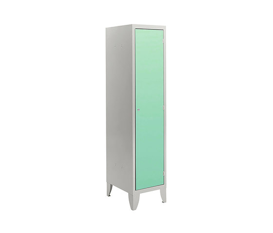 HPL | 1 door locker with partition by Dieffebi | Lockers