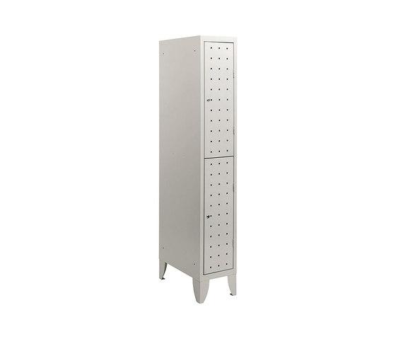 Multiplus Design | 2 Tiers locker H1800 by Dieffebi | Lockers