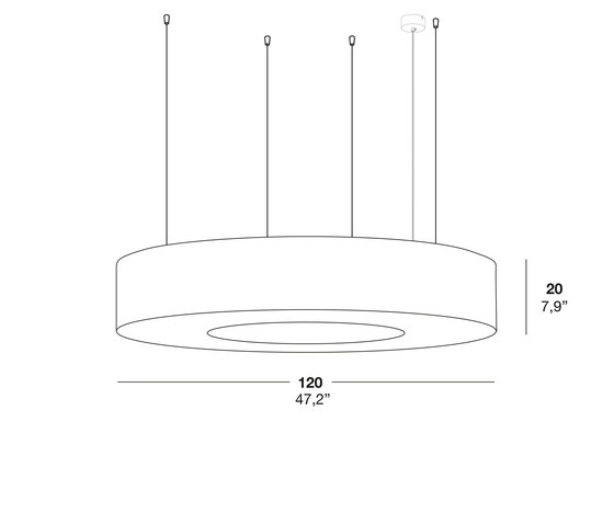 Saturnia SG di lzf | Illuminazione generale