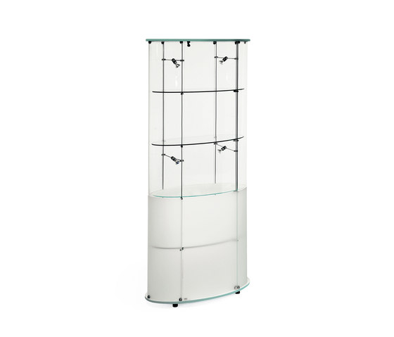Ellipse Vitrine by Reflex | Display cabinets