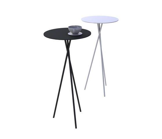 Mork occasional table di Lourens Fisher | Tavoli caffetteria