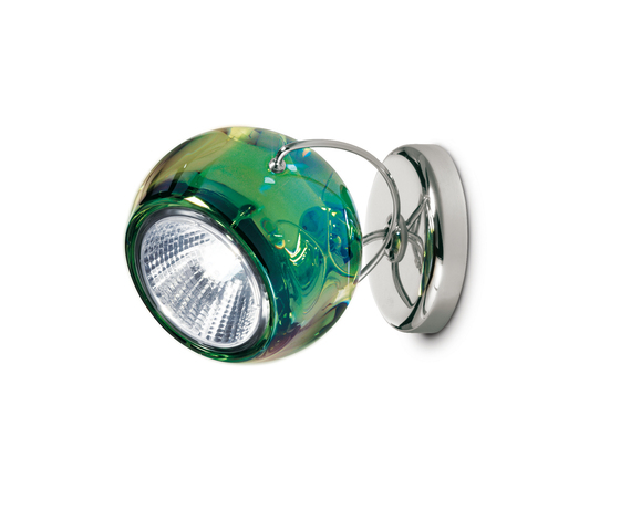 Beluga Colour D57 G13 43 by Fabbian | Wall-mounted spotlights