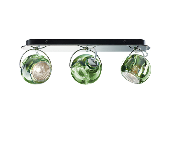 Beluga Colour D57 G25 00 by Fabbian | Ceiling lights