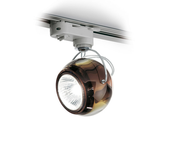 Beluga Colour D57 J07 41 by Fabbian | Low voltage track lighting