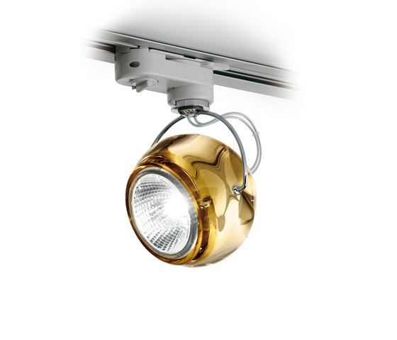 Beluga Colour D57 J11 04 by Fabbian | Low voltage track lighting