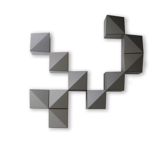 Origami Monofrontale by Reflex | Shelving systems