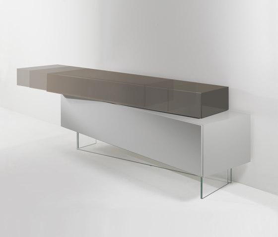 Slide Buffet di Reflex | Tavoli a consolle