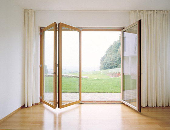 JOSKO folding-sliding doors by JOSKO | French doors