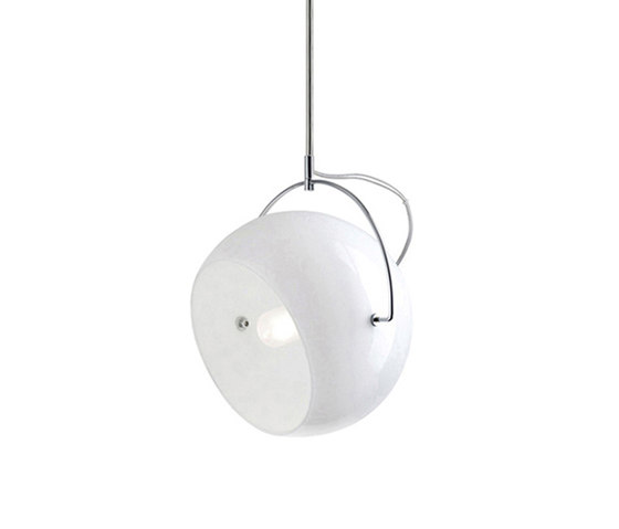 Beluga White D57 A19 01 by Fabbian | General lighting