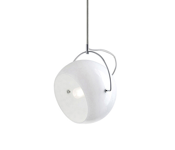 Beluga White D57 A21 01 by Fabbian | General lighting