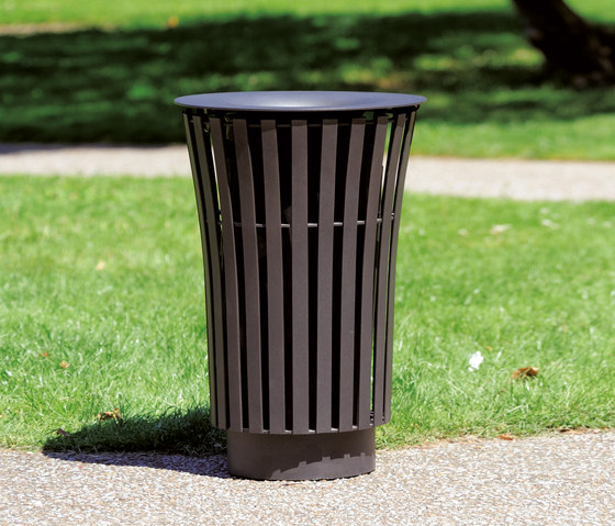 Narcisse Litter bin by AREA | Exterior bins