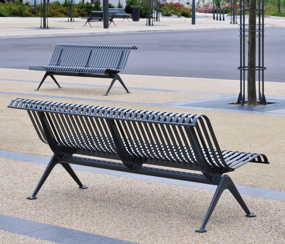 Lisbonne Outdoor Bench by AREA | Exterior benches