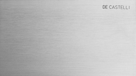 Acciaio Inox Aisi 304 Satinato di De Castelli | Lamiere metallo