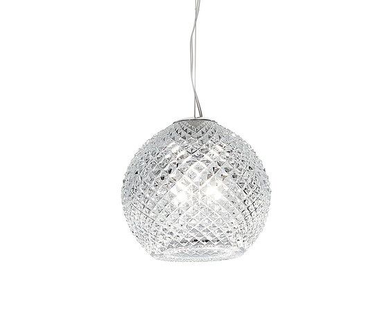 Diamond-Swirl D82 A01 00 by Fabbian | Suspended lights