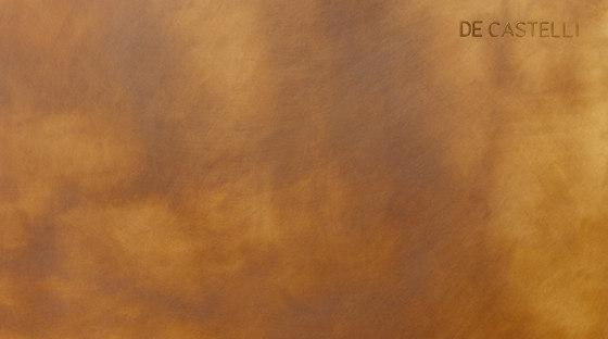 DeLabré brass de De Castelli | Paneles metálicos